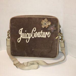 Juicy Couture bag tan laptop case